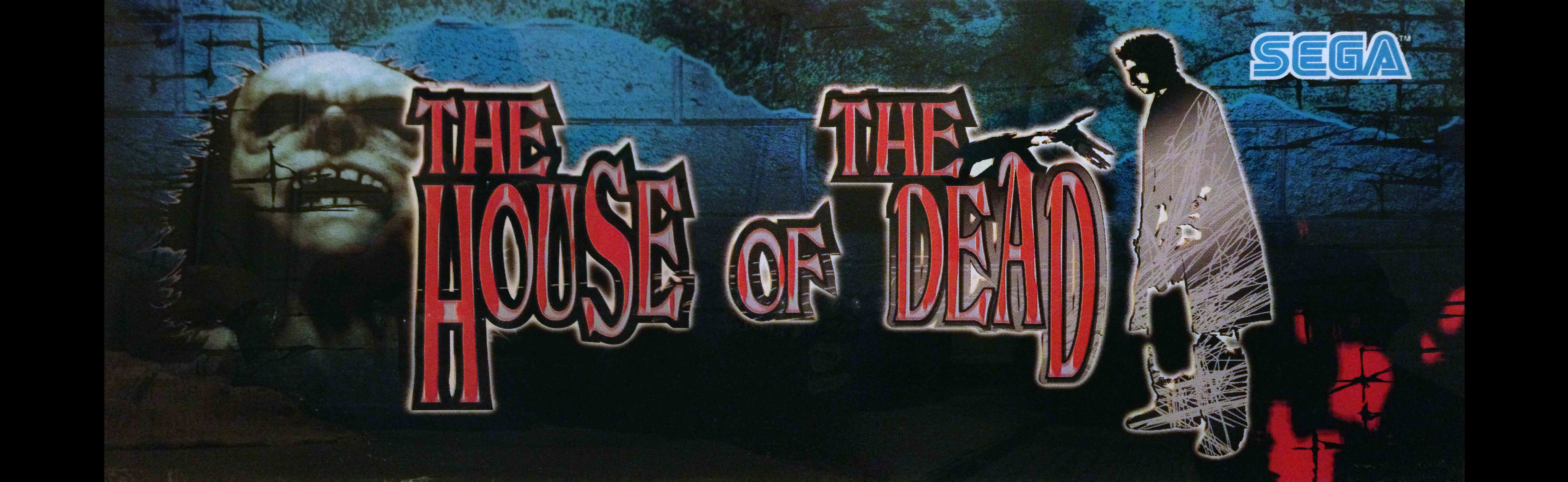 The house of the dead arcade marquee 26 x 8 for Housse of the dead