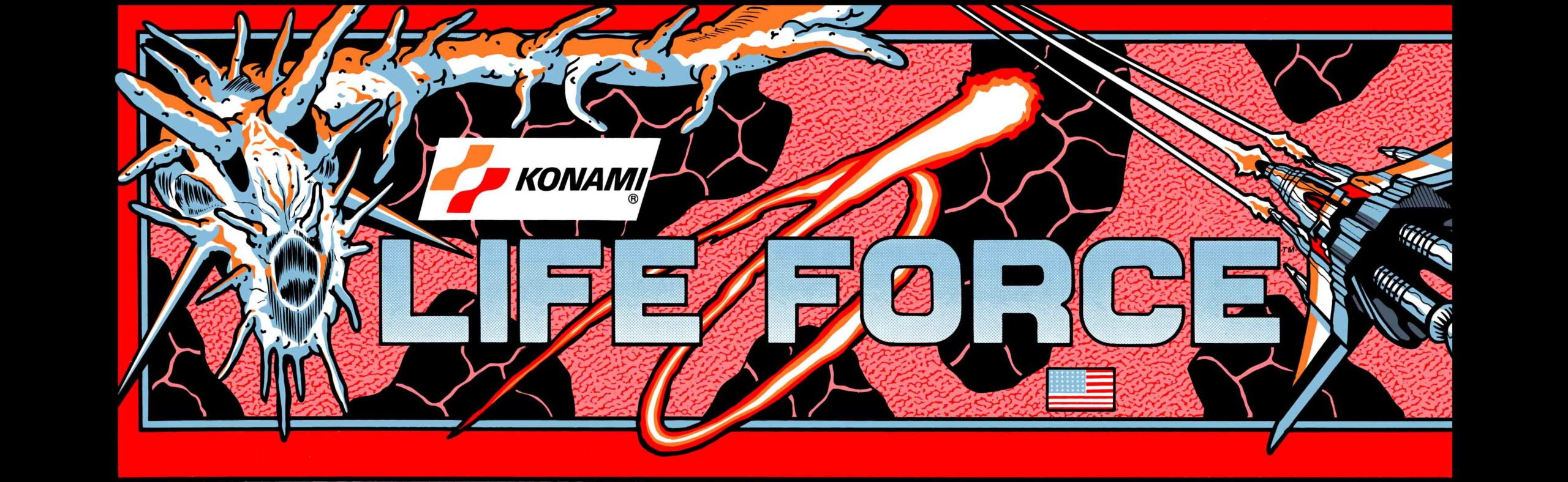Life Force Arcade Marquee 26″ x 8″