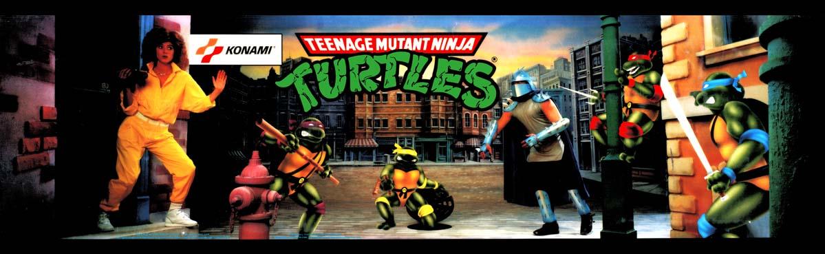 Teenage Mutant Ninja Turtles (TMNT) Arcade Marquee - 27