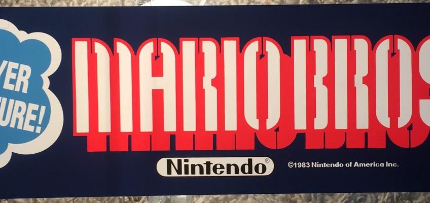Mario Bros Arcade Marquee