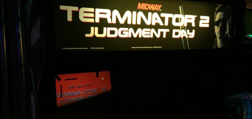 Terminator 2 Arcade Marquee
