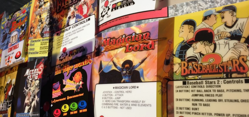 Neo Geo Arcade Marquees