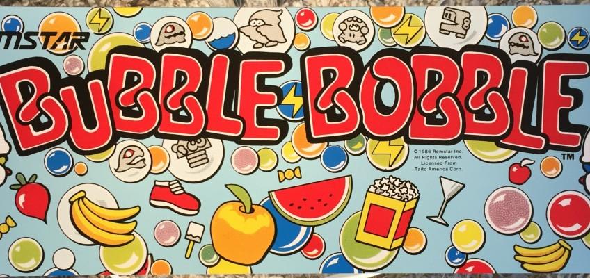 Bubble Bobble Arcade Maruqee