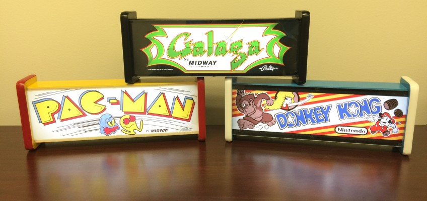 Corry's Arcade Marquee Light Boxes