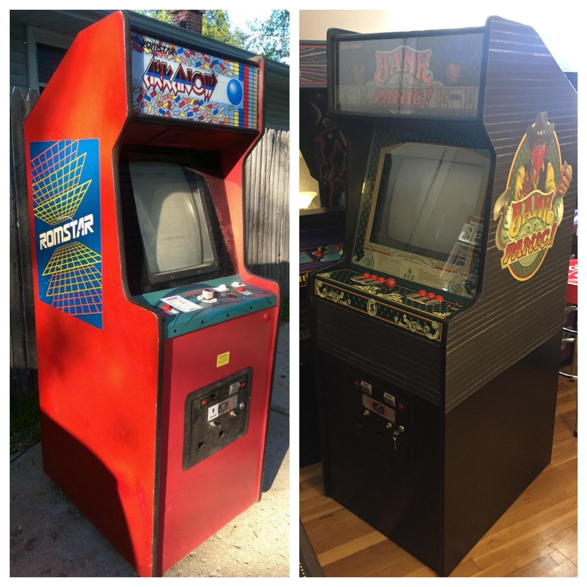 Ross's Bank Panic Arcade Restoration – Arcade Marquee Dot Com