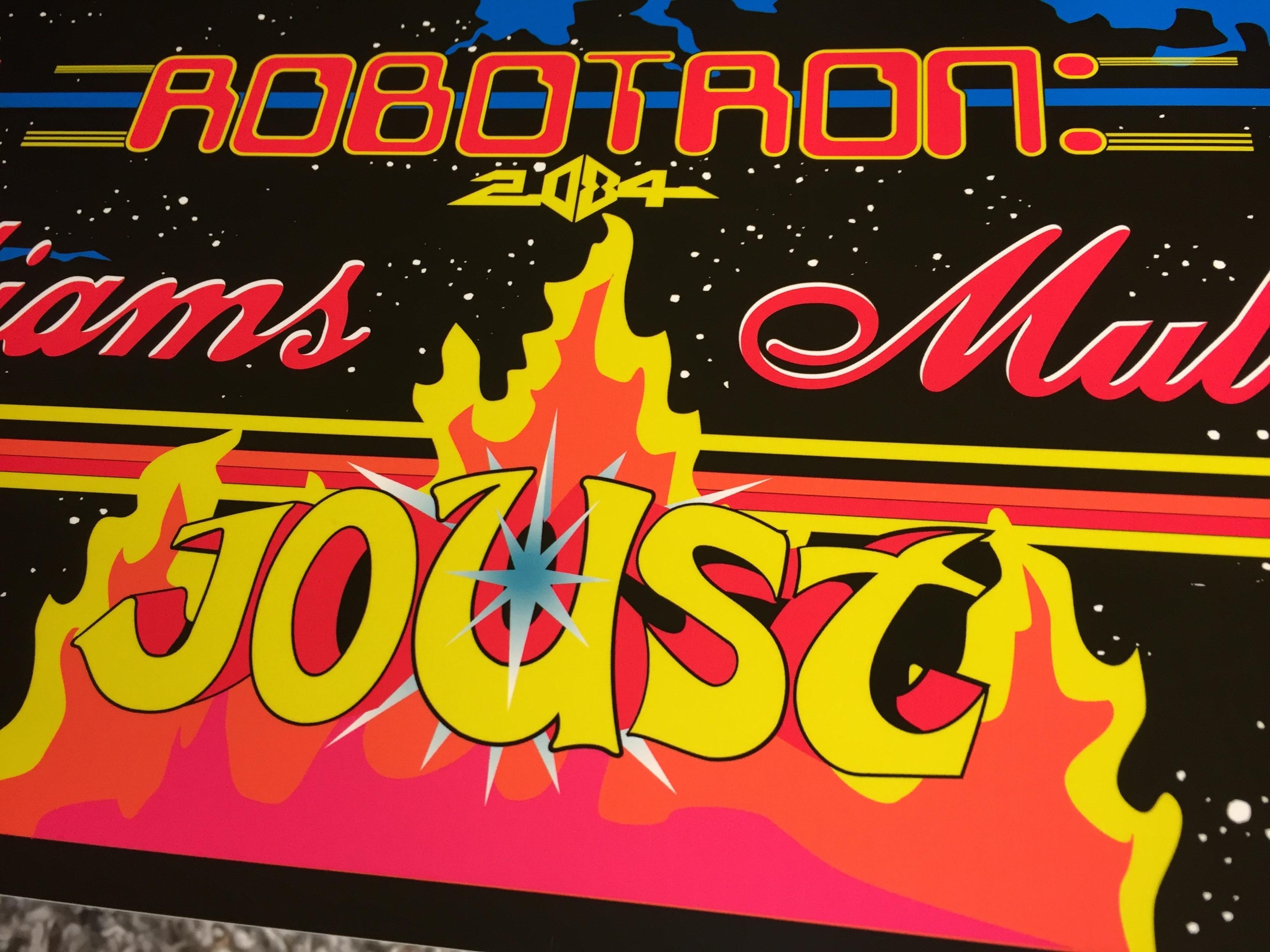 Williams Multicade Arcade Marquee - 24 5