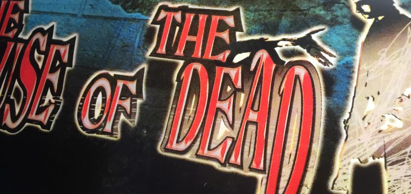 House of the Dead Arcade Marquee