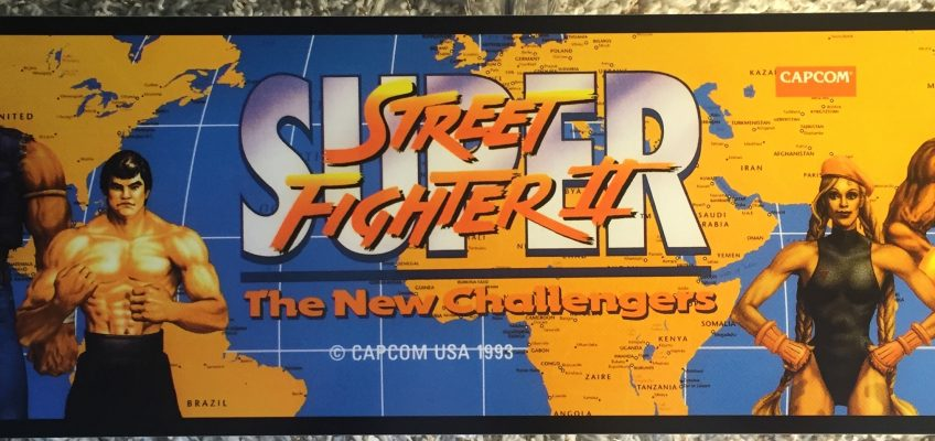 Super Street Fighter II Marquee