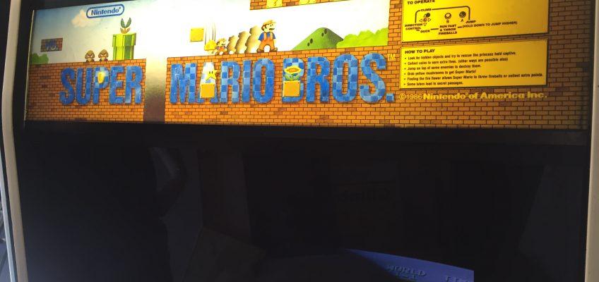 Super Mario Bros Arcade Marquee