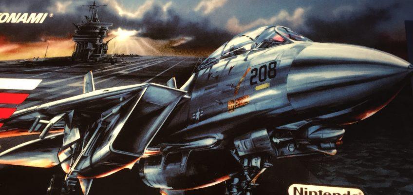 Top Gun Arcade Marquee