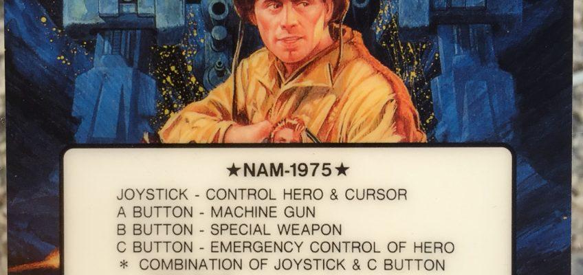 Nam 1975 Neo Geo Arcade Marquee