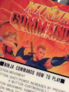 Ninja Commando Neo Geo Marquee