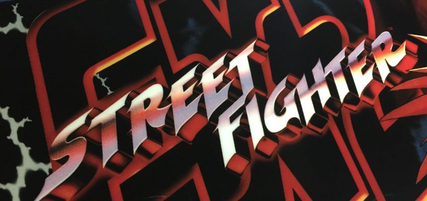 Street Fighter EX2 Arcade Marquee