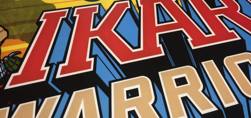Ikari Warriors Arcade Marquee