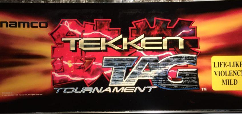 Tekken Tag Arcade Marquee