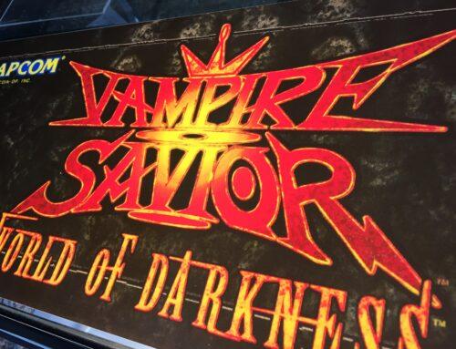 Vampire Savior Arcade Marquee