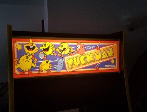 Hunter's Puckman Arcade Cabinet