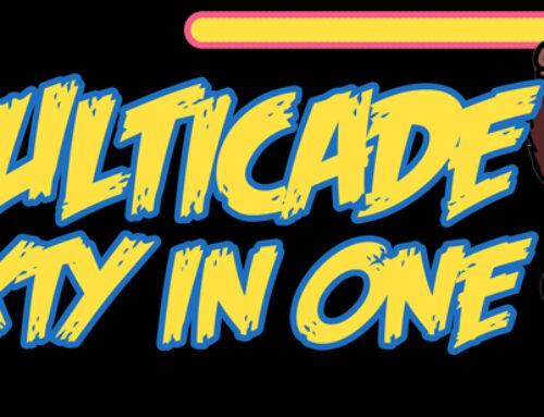 Multicade 60-1 Arcade Marquee