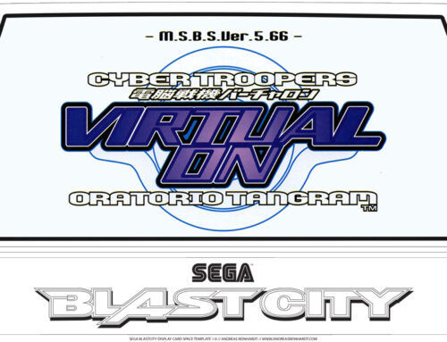 Virtual On Blast City Marquee Now in Stock!