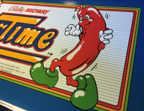 Burger Time Arcade Marquee