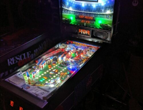 Monday Night Football, Pinball Custom Translite