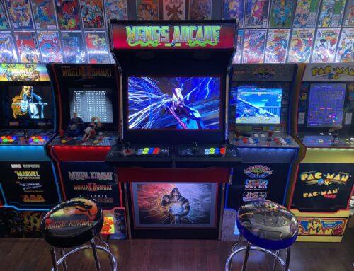 Meng's Arcade – Mortal Kombat Style