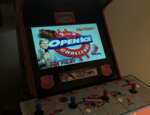 Open Ice Arcade Marquee