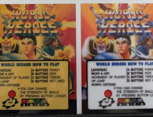 World Heroes Neo Geo Marquee – Old and New