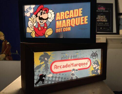 Richard Ivey Mini Arcade Light Boxes!