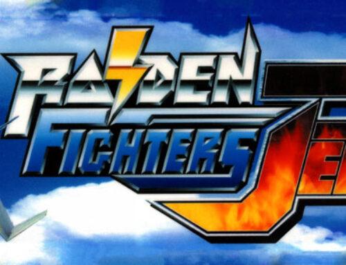 Raiden Fighters JET Arcade Marquee