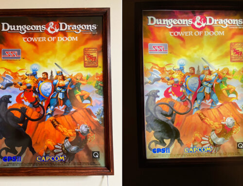Dungeons and Dragons Arcade Light Box By Keith