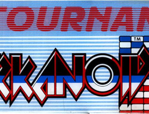 Tournament Arkanoid Arcade Marquee