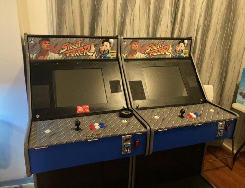 Custom Street Fighter Arcade Marquee by Chuck